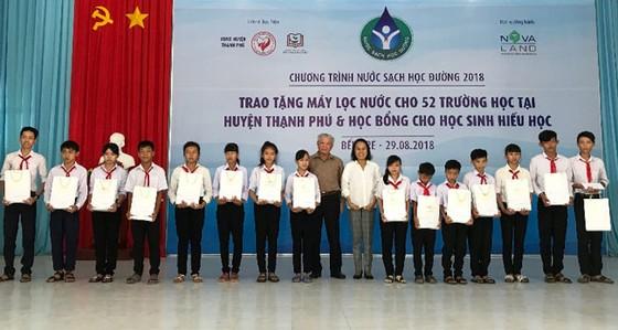 Giải bài toán nước sạch học đường tại huyện Thạnh Phú, Bến Tre  ảnh 5