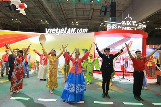 Vietjet tặng 2,3 triệu vé giá 0 đồng tại Hội chợ Du lịch quốc tế TPHCM ảnh 1