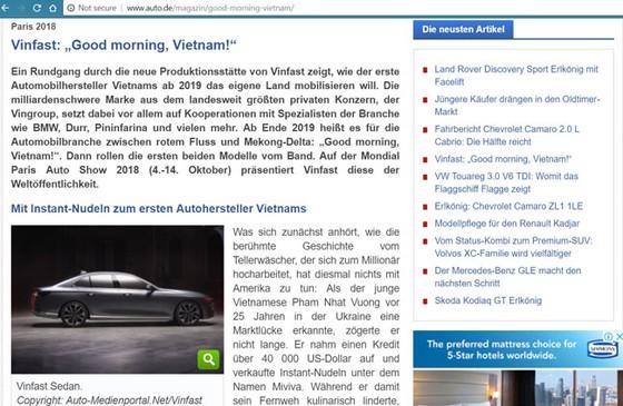 """Báo Đức - """"Chào buổi sáng, Việt Nam!"""" ảnh 1"""