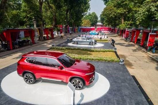 Xe VinFast chuẩn bị trình làng tại Cần Thơ, Nha Trang, Đà Nẵng, Hà Tĩnh ảnh 11