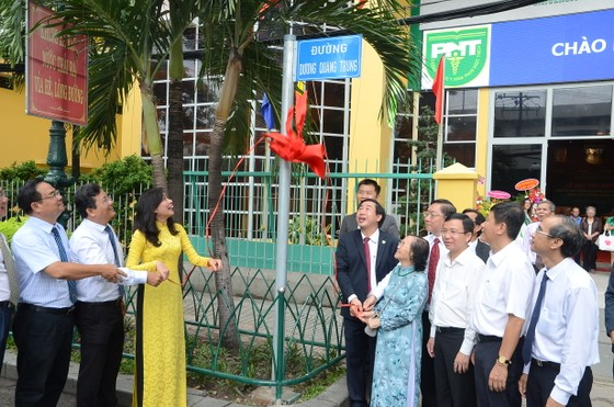 Một con đường được đặt tên Thầy thuốc Nhân dân Dương Quang Trung ảnh 2