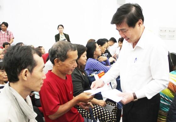 Bí thư Thành ủy TPHCM Nguyễn Thiện Nhân thăm, chúc Tết nguyên Thủ tướng Nguyễn Tấn Dũng ảnh 5