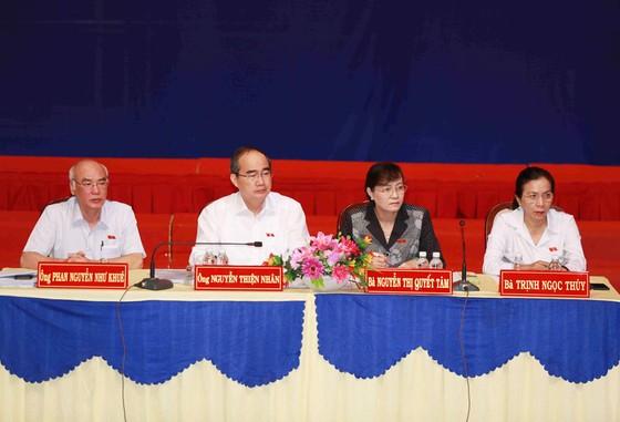 Cử tri kiến nghị Bí thư Thành ủy TPHCM Nguyễn Thiện Nhân xử lý dứt điểm vụ Thủ Thiêm ảnh 1