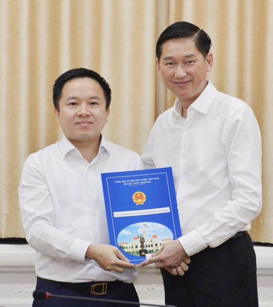 Đồng chí Từ Lương giữ chức Phó Giám đốc Sở TT-TT TPHCM ảnh 1