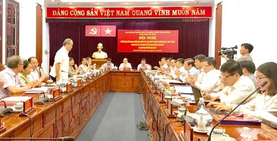 Ban Chỉ đạo Trung ương về phòng, chống tham nhũng kiểm tra việc thu hồi tài sản tham nhũng tại TPHCM ảnh 1