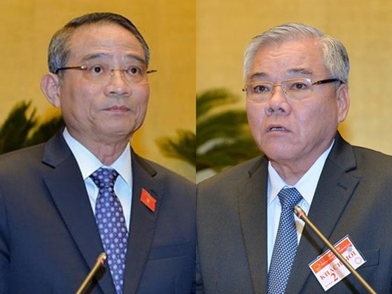 Đề nghị miễn nhiệm Bộ trưởng Bộ GTVT và Tổng Thanh tra Chính phủ  ảnh 1