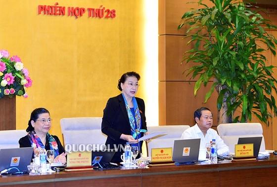 Quốc hội sẽ tiến hành công tác nhân sự ngay ngày đầu tiên của Kỳ họp thứ 6   ảnh 1