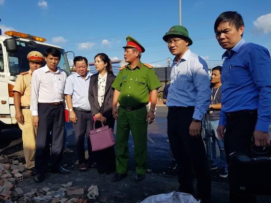 Vụ cháy xe bồn chở xăng ở Bình Phước: Xe bồn chạy với tốc độ gần 100km/h ảnh 1