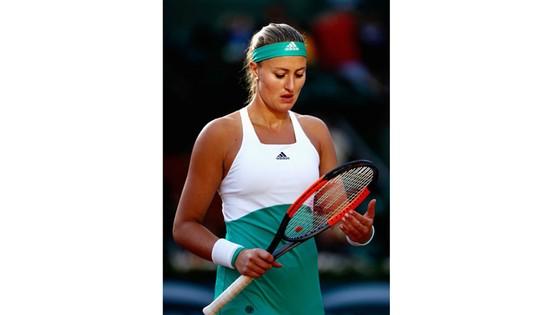 Sự thất vọng của Kristina Mladenovic