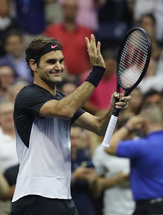 US Open 2017: Thẳng tiến tứ kết, Federer tái ngộ Del Potro ảnh 2