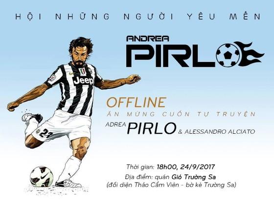 Tự truyện của Pirlo xuất bản tại Việt Nam: Từ thư viện trường đến cuốn sách đầu giường ảnh 3