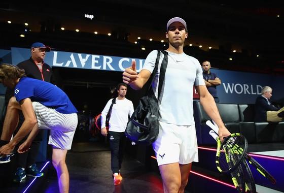 Nadal thua, nhưng tuyển châu Âu vẫn dẫn trước