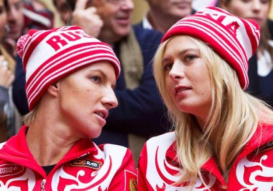 Kuznetsova và Sharapova