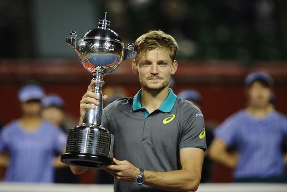 Nadal giành danh hiệu thứ 6, Goffin lên ngôi ở Nhật Bản ảnh 1