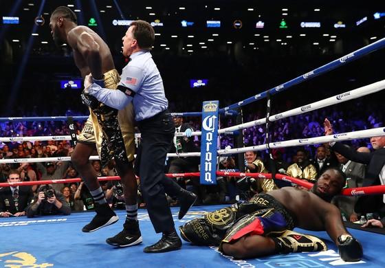 Wilder đấm gục Stiverne ngay trong hiệp đấu đầu tiên ảnh 2