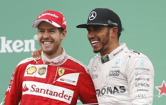 Hamilton được truyền cảm hứng bởi Federer và Nadal ảnh 2