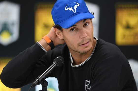 Nadal tỏ ra e sợ Federer