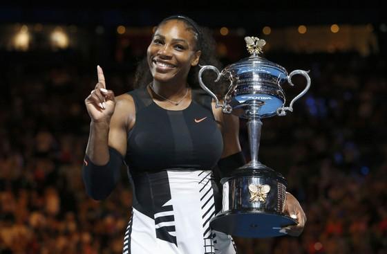 Serena Williams đăng quang Australian Open 2017 khi đang mang thai 5 tuần tuổi