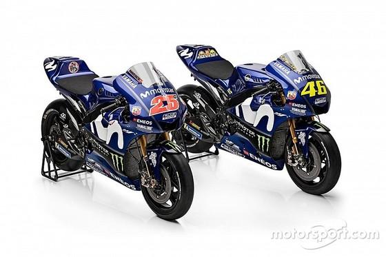 Đua xe mô tô: Yamaha giới thiệu mẫu xe đua mới YZR-M1 ảnh 1