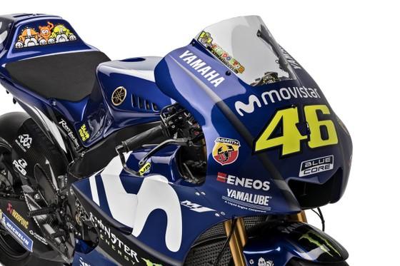 Đua xe mô tô: Yamaha giới thiệu mẫu xe đua mới YZR-M1 ảnh 4