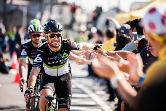 Mark Cavendish đang hạnh phúc