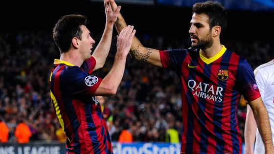 F4 tái ngộ Barcelona: Không có bạn bè trên sân đấu ảnh 1