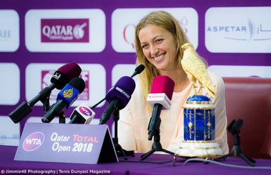 """Petra Kvitova: Quay lại nhóm """"thập đại mỹ nhân"""" lần đầu tiên kể từ khi bị dao đâm ảnh 1"""