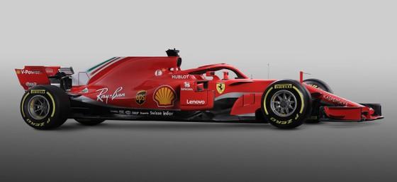 Đua xe F1: Ferrari công bố mẫu xe SF71H, Vettel và Raikkonen phấn khích ảnh 1