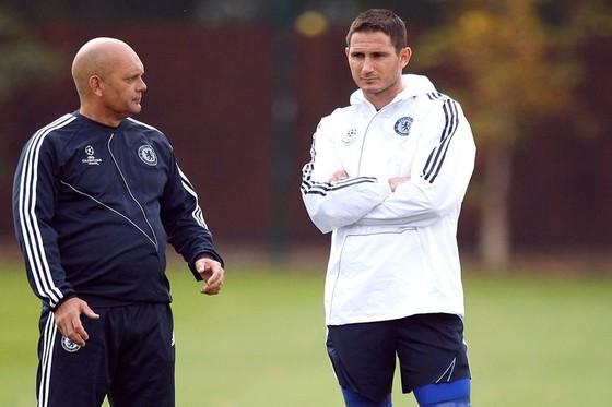 Ray Wilkins (trái) và FRank Lampard