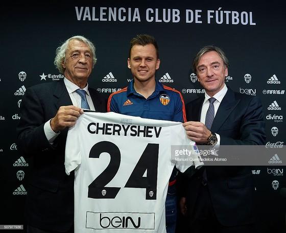 Denis Cheryshev trong lần đầu quân cho Valencia hồi năm 2016