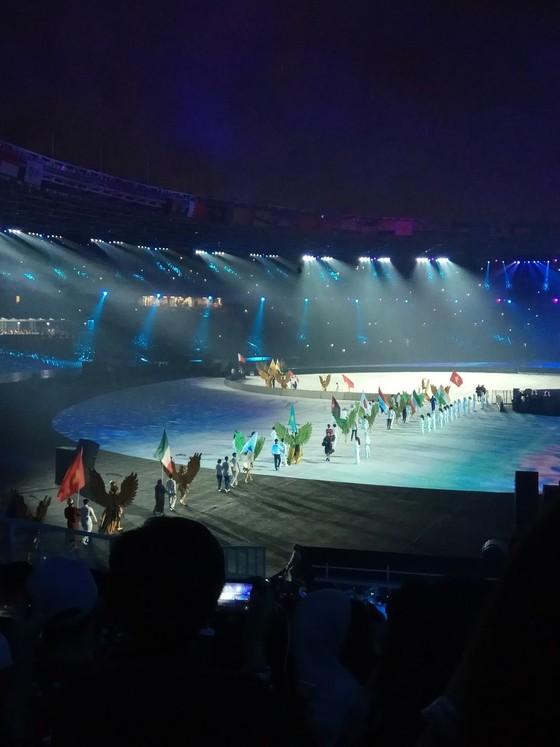 Lễ bế mạc Asiad 2018: Ngập tràn sắc màu về một châu Á đoàn kết và thống nhất ảnh 3