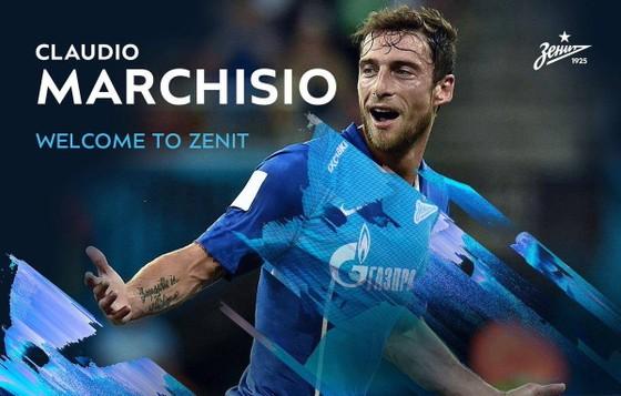 Marchisio chính thức gia nhập Zenit St.Petersburg