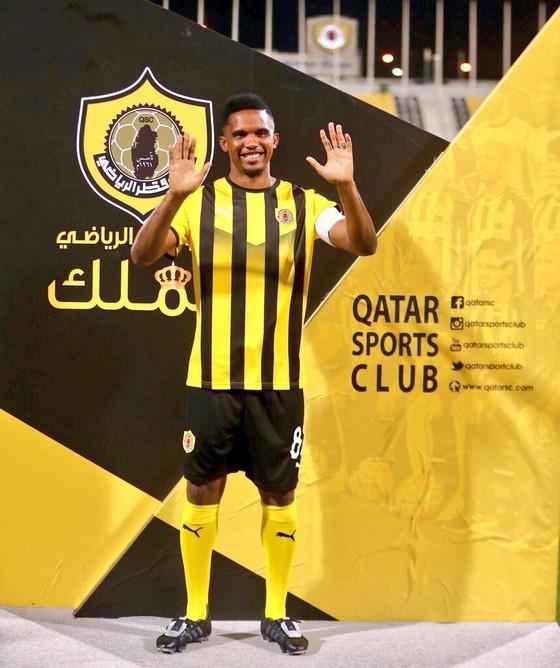 Samuel Eto'o: Ghi bàn đầu tiên cho Qatar SC ở QSL bằng… một pha đánh gót ảnh 4