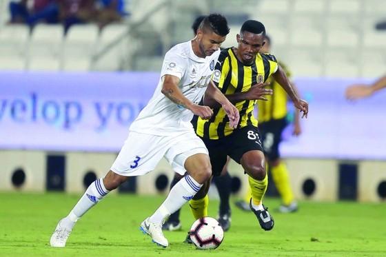 Samuel Eto'o: Ghi bàn đầu tiên cho Qatar SC ở QSL bằng… một pha đánh gót ảnh 6