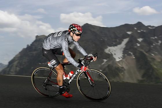 Thomas De Gendt trên một chặng đua đèo