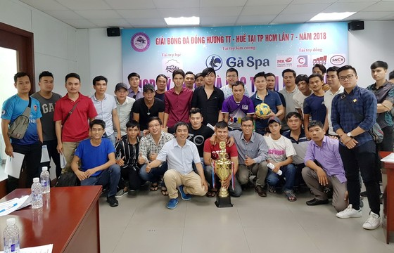 Giải bóng đá đồng hương Huế 2018