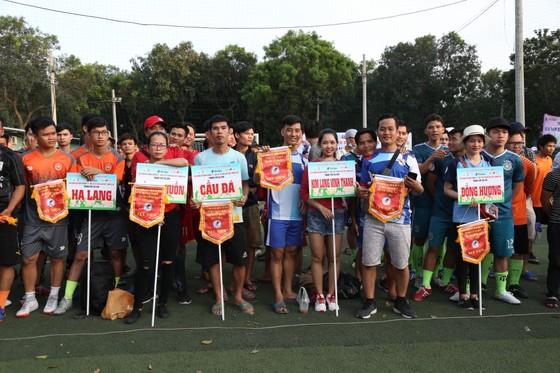 Các cầu thủ tham dự giải đồng hương Huế