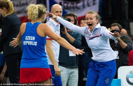 Chung kết Fed Cup 2018: Nghiền bẹp tuyển Mỹ 3-0, CH Séc đăng quang lần thứ 6 ảnh 3