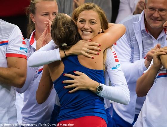 Chung kết Fed Cup 2018: Nghiền bẹp tuyển Mỹ 3-0, CH Séc đăng quang lần thứ 6 ảnh 4