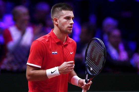 Chung kết Davis Cup: Coric, Cilic lập công, Croatia cách ngôi vô địch thứ 2 đúng 1 trận thắng ảnh 1