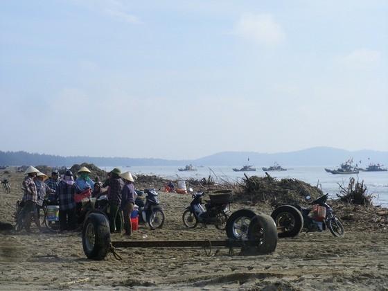 Kinh hoàng củi, rác ngập bãi biển Sầm Sơn tỉnh Thanh Hóa ảnh 4