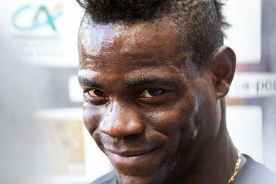 Tiền đạo Mario Balotelli. Ảnh: Getty Images.