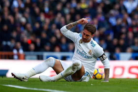 Nỗi thất vọng của Sergio Ramos. Ảnh: Getty Images.