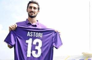 """Fiorentina """"giải nghệ"""" số áo 13 của Astori."""