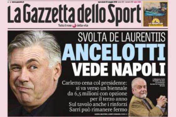 Napoli bổ nhiệm Ancelotti, Sarri sang gõ cửa Chelsea ảnh 1