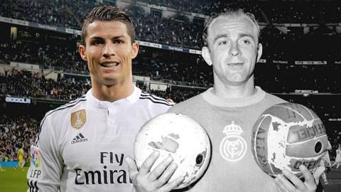 Ronaldo bây giờ phải so sánh với Di Stefano ảnh 1