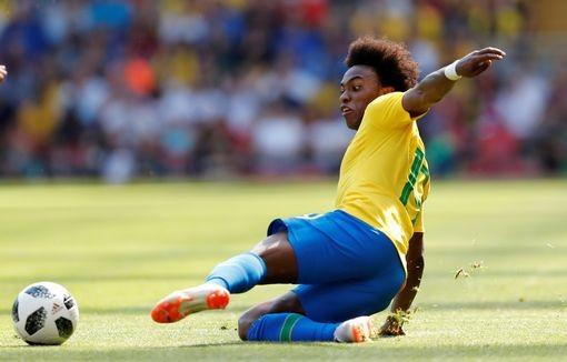 Neymar nhảy điệu samba trên sân Anfield ảnh 8