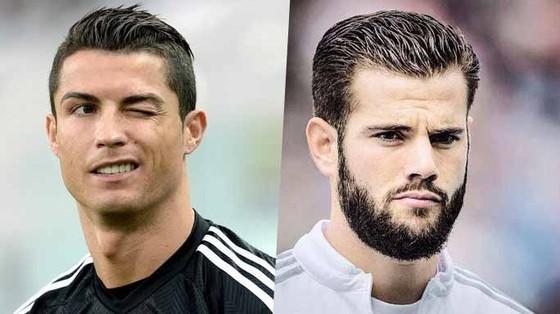 Cristiano Ronaldo và Nacho Fernandez.