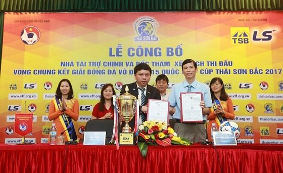 VFF công bố 8 đội dự vòng chung kết giải U15 toàn quốc