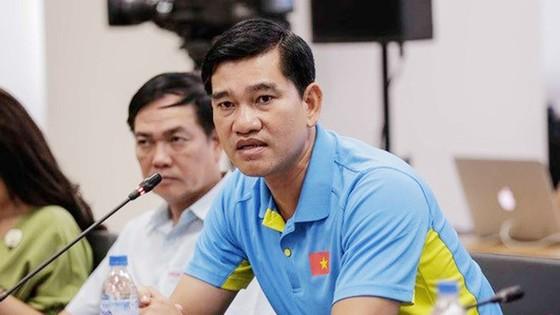 HLV Nguyễn Quốc Vũ hài lòng khi trở về đơn vị Long An. Nguồn: tư liệu
